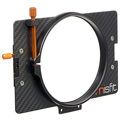 Image of Bright Tangerine Misfit 114 mm Clamp Lens Attachment
