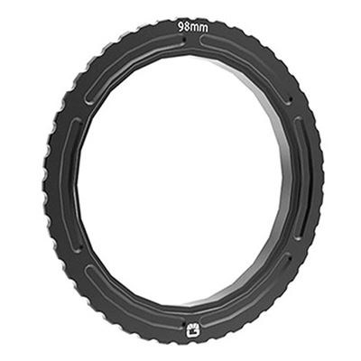 Image of Bright Tangerine Misfit 114 mm - 98 mm Threaded Adaptor Ring for ENG wide angle lenses, 4.3mm Canon,