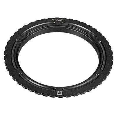 Image of Bright Tangerine Misfit 114 mm - 95 mm Threaded Adaptor Ring for ENG wide angle lenses, 4.3mm Canon,