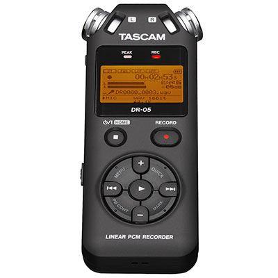 Tascam DR05V2 Handheld Stereo Recorder