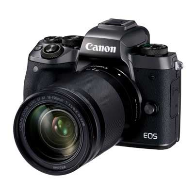 Canon EOS M5 Digital Camera with 18-150mm Lens Kit