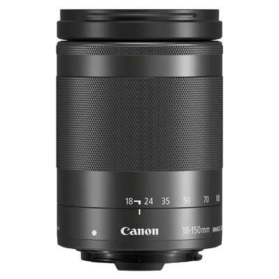 Canon EF-M 18-150mm f3.5-6.3 IS STM Lens - Black