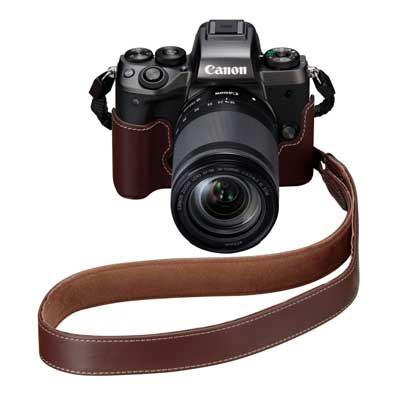 Canon EM-E2 Brown Leather Neck Strap for the EOS M5