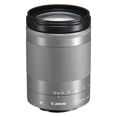Image of Canon EF-M 18-150mm f3.5-6.3 IS STM Lens - Silver