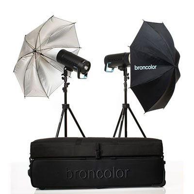 Broncolor Siros 400 Basic Twin Head Kit WiFi/RFS 2