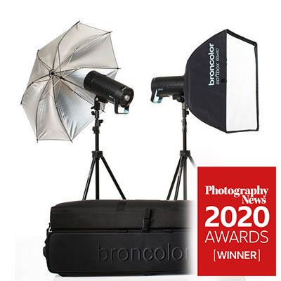 Broncolor Siros 400 S Expert Twin Head Kit WiFi/RFS 2