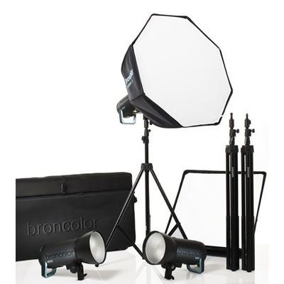 Broncolor Siros 800S Pro Three Head Kit - WiFi/RFS2