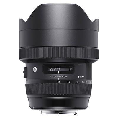 Sigma 12-24mm f4 Art DG HSM Lens - Nikon Fit