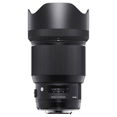 Sigma 85mm f1.4 ART DG HSM Lens  Sigma Fit