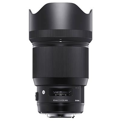 Sigma 85mm f1.4 ART DG HSM Lens  Canon Fit