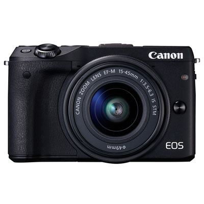 Image of Canon EOS M3 Digital Camera with 15-45mm Lens