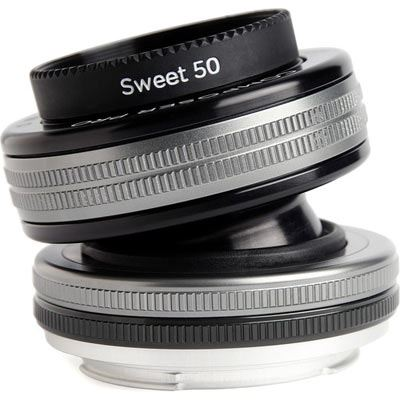 Lensbaby Composer Pro II with Sweet 50 Optic – Canon EF Fit