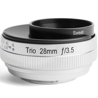 Image of Lensbaby Trio 28 - Micro Four Thirds Fit