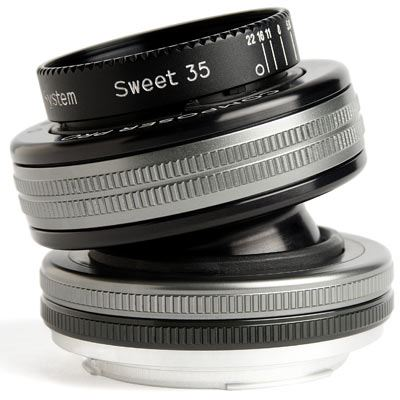 Lensbaby Composer Pro II with Sweet 35 Optic - Canon EF Fit