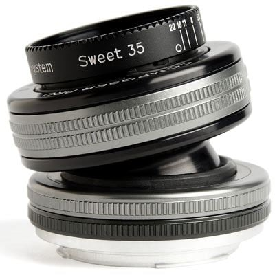 Image of Lensbaby Composer Pro II with Sweet 35 Optic - Nikon F Fit