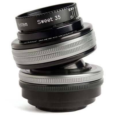Image of Lensbaby Composer Pro II with Sweet 35 Optic - Sony E Fit