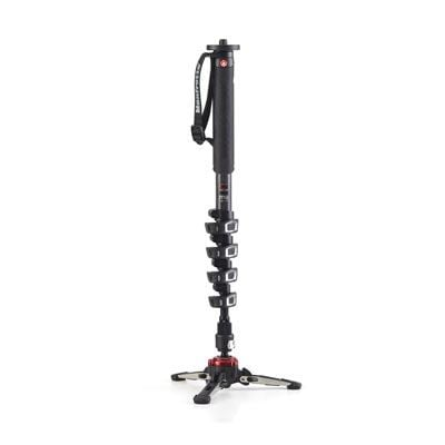 Manfrotto XPRO Video 5 Section Carbon Fibre Monopod