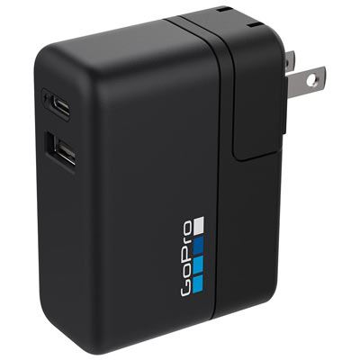 GoPro Supercharger Dual Port Wall Charger EN/SP/SE