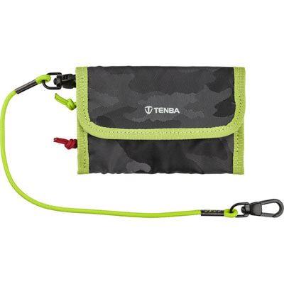 Tenba Tools Reload Universal Card Wallet Black Camo/Lime