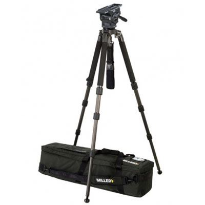 Image of Miller 3068 ArrowX 3 Solo 100 Video Tripod