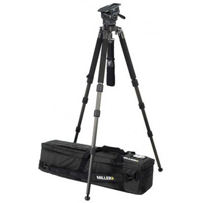 Image of Miller 3128 ArrowX 5 Solo 100 Video Tripod