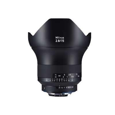 Zeiss 15mm f2.8 Milvus ZF.2 Lens - Nikon F Mount