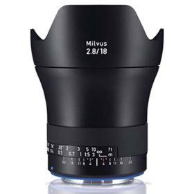 Zeiss 18mm f2.8 Milvus ZE - Canon Fit