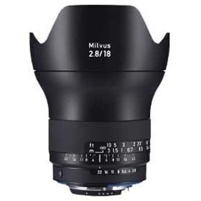 Zeiss 18mm f2.8 Milvus ZF.2 - Nikon Fit