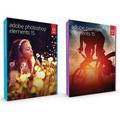 Adobe Photoshop  Premiere Elements 15 MacWin