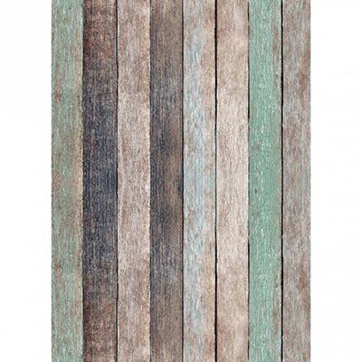 Westcott Basics X-Drop Background Cloth - Nutmeg Pastels Rustic Wood