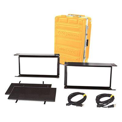 Kino Flo Diva-Lite LED 20 DMX Kit (2-Unit) with Flight Case