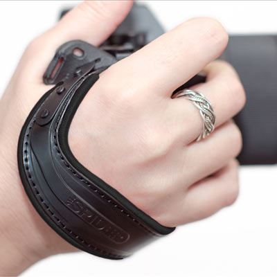 SpiderLight Hand Strap - Black