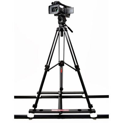 Image of Hague D5T Camera Tripod Tracking Dolly Kit