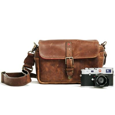 Ona Bowery For Leica Antique Cognac  Leather