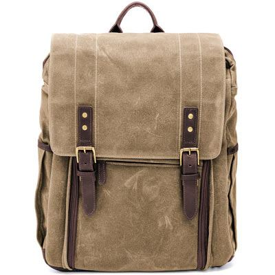 Ona Camps Bay Field Tan  Waxed Canvas