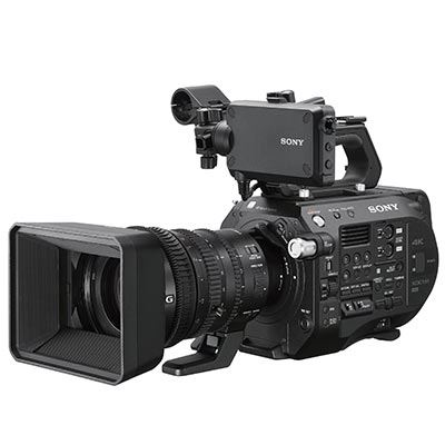 Sony PXWFS7 II 4K Professional Camcorder with 18110mm F4 Servo Zoom G OSS Lens