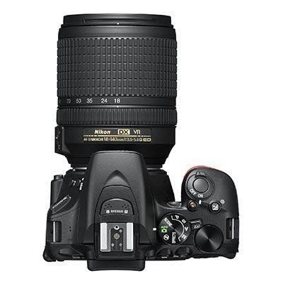 Nikon D5600 Digital SLR Camera with 18-140mm Lens