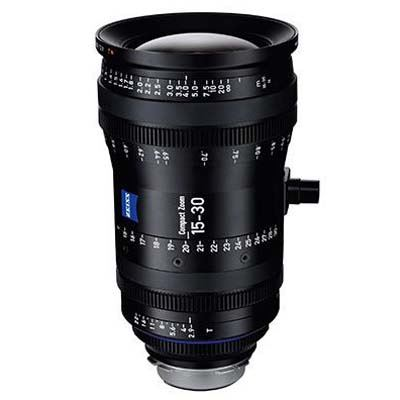 Zeiss 15-30mm T2.9 CZ.2 Cine Zoom Lens - Sony E Mount (Metric)