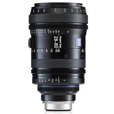 Zeiss 28-80mm T2.9 CZ.2 Cine Zoom Lens - Sony E Mount (Feet)