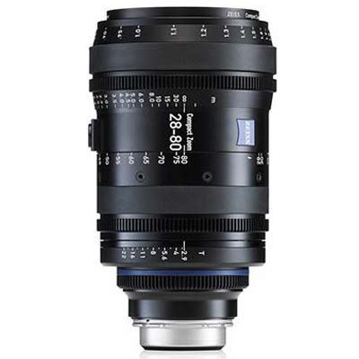 Zeiss 28-80mm T2.9 CZ.2 Cine Zoom Lens - Sony E Mount (Metric)