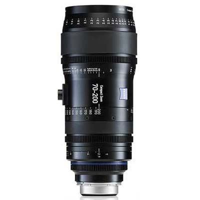 Zeiss 70-200mm T2.9 CZ.2 Cine Zoom Lens - Nikon F Mount (Feet)
