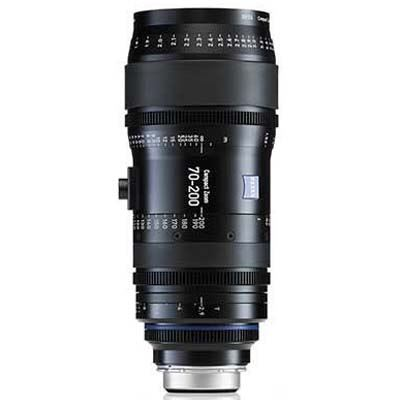 Zeiss 70-200mm T2.9 CZ.2 Cine Zoom Lens - Nikon F Mount (Metric)