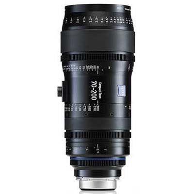 Zeiss 70-200mm T2.9 CZ.2 Cine Zoom Lens - Nikon F Mount (Metric)