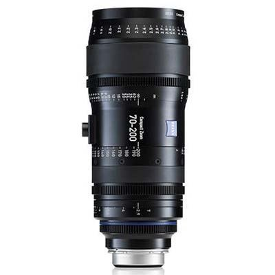 Zeiss 70-200mm T2.9 CZ.2 Cine Zoom Lens - Sony E Mount (Feet)