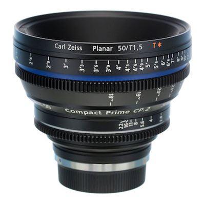 Zeiss 50mm T1.5 CP.2 Cine Prime T* Lens - Nikon F Mount (Metric/Super Speed)