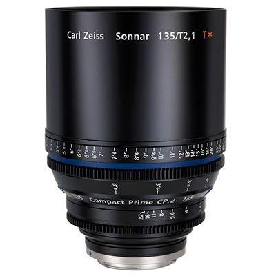 Zeiss 135mm T2.1 CP.2 Cine Prime T* Lens - Nikon F Mount (Metric)