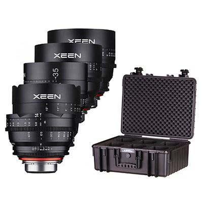 Image of Samyang Xeen 5 Cinema Lens Kit (14 T3.0/24/35/50/85mm T1.5)