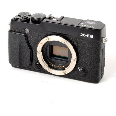Used Fuji X-E2 Digital Camera Body - Black