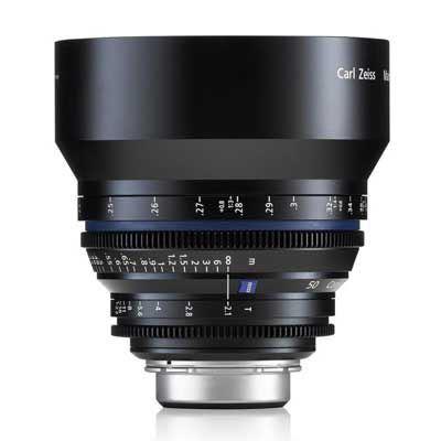 Zeiss 50mm T2.1 CP.2 Makro Cine Prime T* Lens - Sony E Mount (Feet)