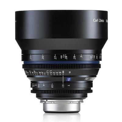 Zeiss 50mm T2.1 CP.2 Makro Cine Prime T* Lens - Sony E Mount (Metric)